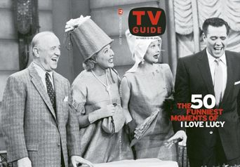 TV Guide's special issue celebrating I Love Lucy's 50th anniversary in 2001 was the only time all four of its stars appeared on the same cover